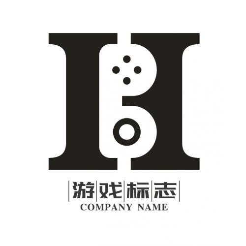 字母游戏logo设计
