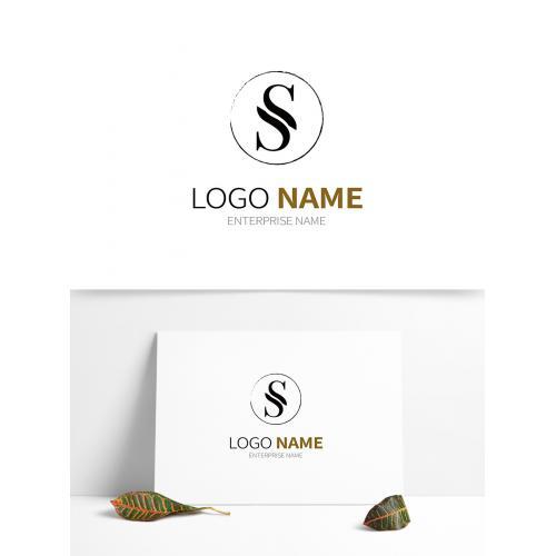 字母S品牌LOGO设计