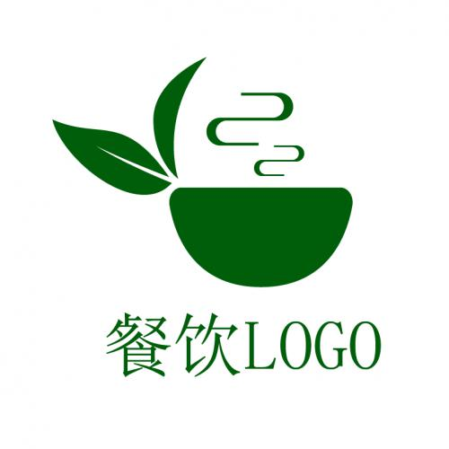 茶叶 茶杯logo
