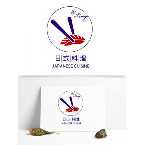 日式料理寿司餐饮logo