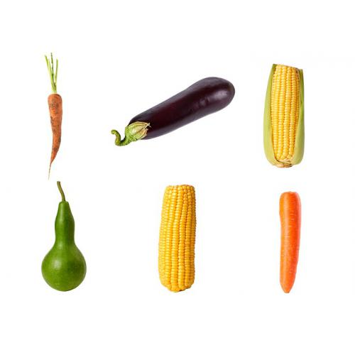 新鲜食材胡萝卜玉米