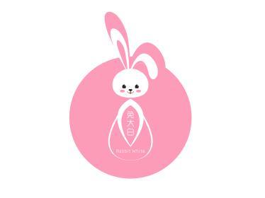 兔大白科技公司设计logo