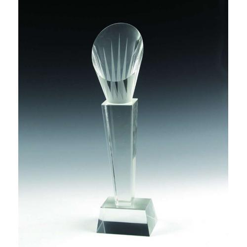 圆柱水晶奖杯