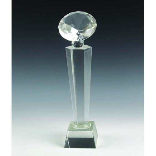 六角柱钻石奖杯