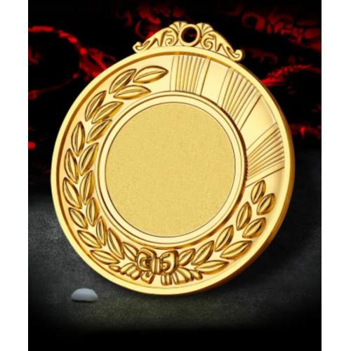 6.5CM锌合金空白奖牌