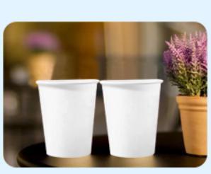 纸杯258g专用高松厚淋膜纸9盎司/250ml