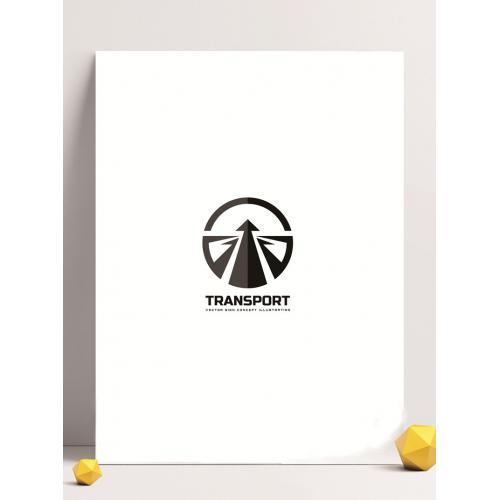 路标素材logo设计图标标志矢量logo广告设计师从业必备的