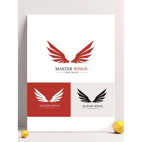 动物鸟形logo设计图标标志矢量logo广告设计师从业人员必备的