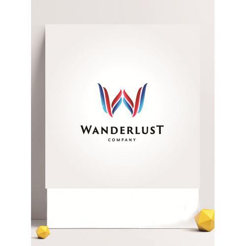 英文字母logo设计图标标志矢量logo广告设计师从业人员必备的
