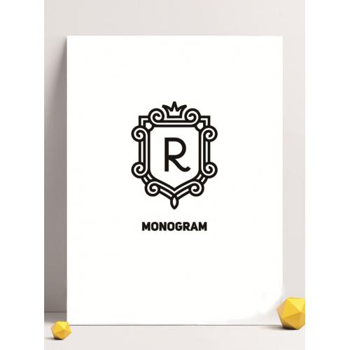 字母logo设计图标标志矢量logo广告设计师从业人员必备的