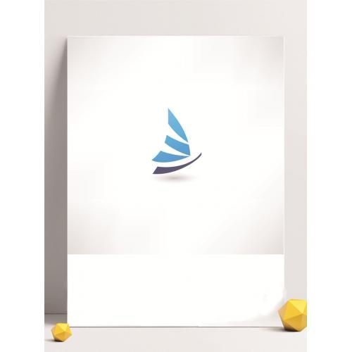 海浪设计图标标志矢量logo广告设计师从业人员必备的