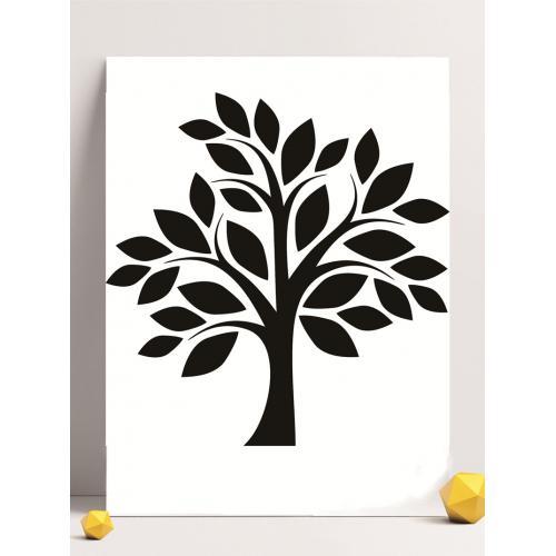 大树素材logo设计图标标志矢量logo广告设计师从业人员必备的