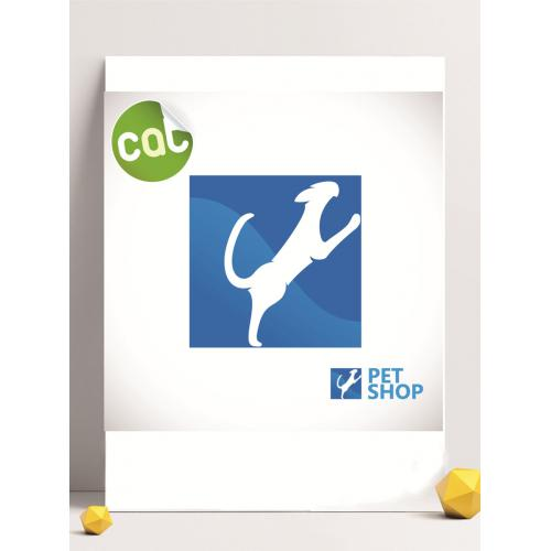 狗狗标签设计图标标志矢量logo广告设计师从业人员必备的