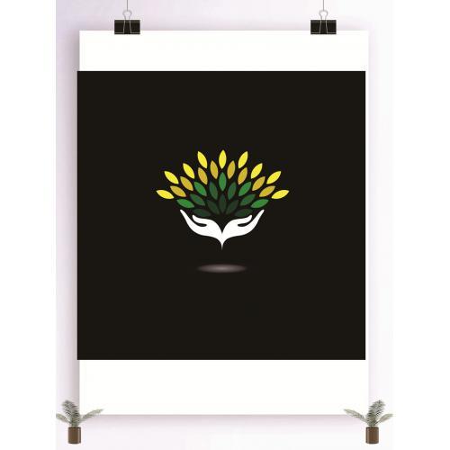 保护生态环境设计图标标志矢量logo广告设计师从业人员必备的